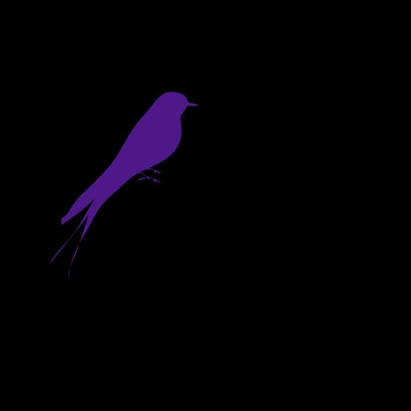 Big Bird On A Branch PNG Clip art