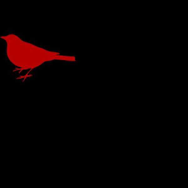 Red Love Bird PNG Clip art
