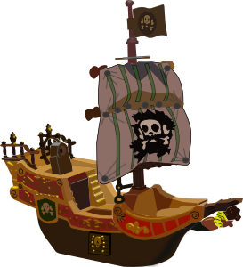 Pirate Ship PNG icons