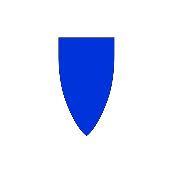 Blue Shields PNG Clip art