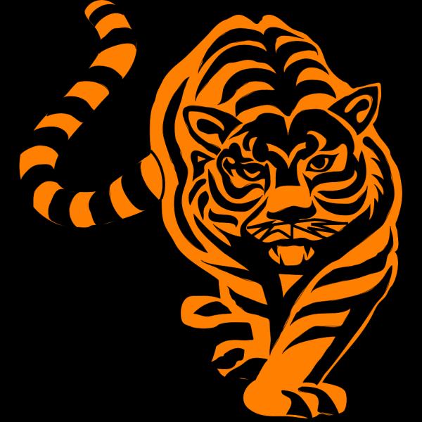Tigre02 PNG Clip art