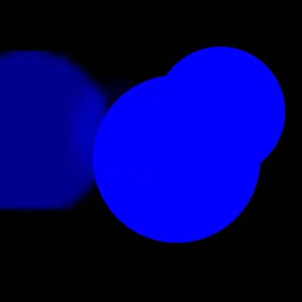 Tack Blue PNG Clip art