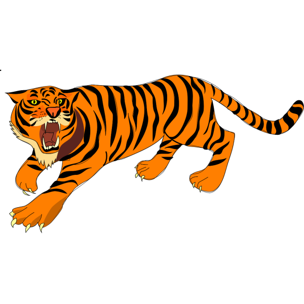 Tigre03 PNG Clip art