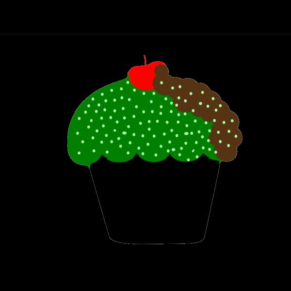 Polka Dot Cupcake PNG images