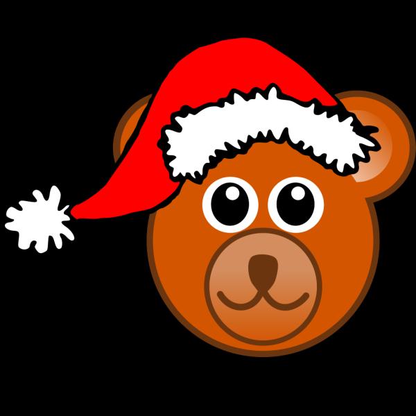 Santa Bear PNG Clip art