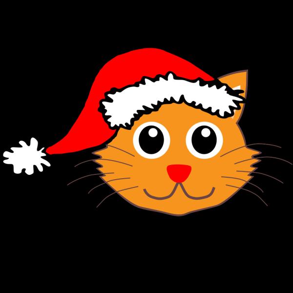 Santa Cat PNG Clip art
