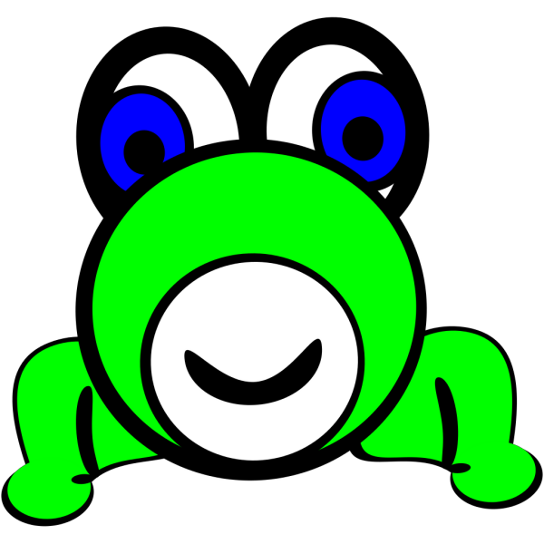 Cartoon Frog PNG Clip art