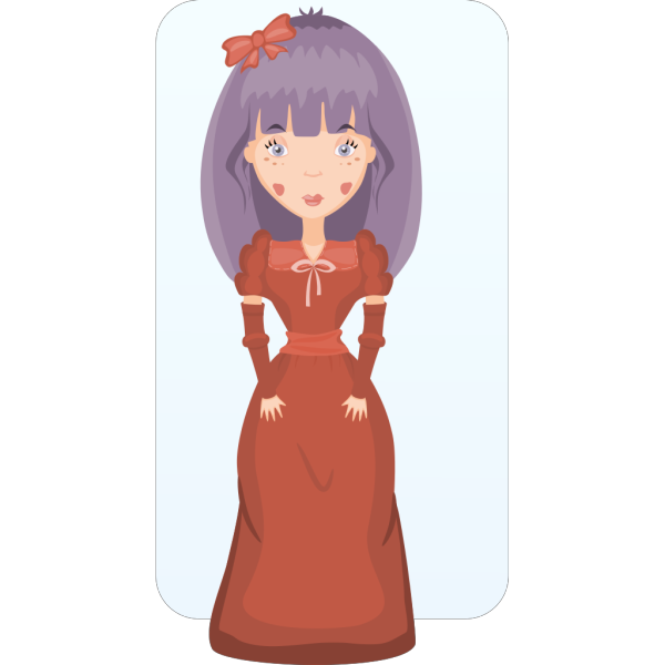 Victorian Girl PNG icons