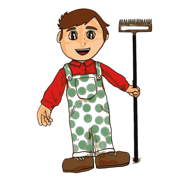 Farmer Boy clipart