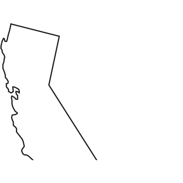 California State Outline Clip Art PNG images