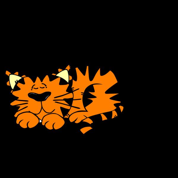 Sleeping Cat 1 Clip Art PNG Clip art