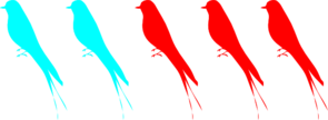 Birds on a Branch PNG icons