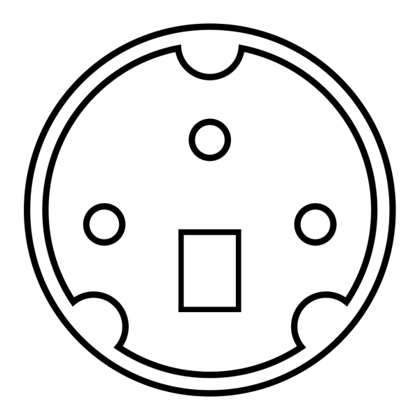 Minidin Diagram PNG Clip art