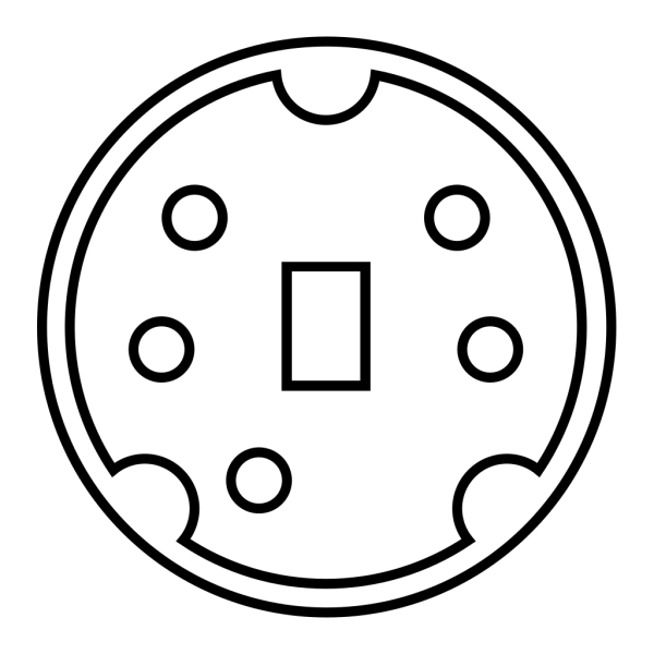 Minidin Diagram PNG icon