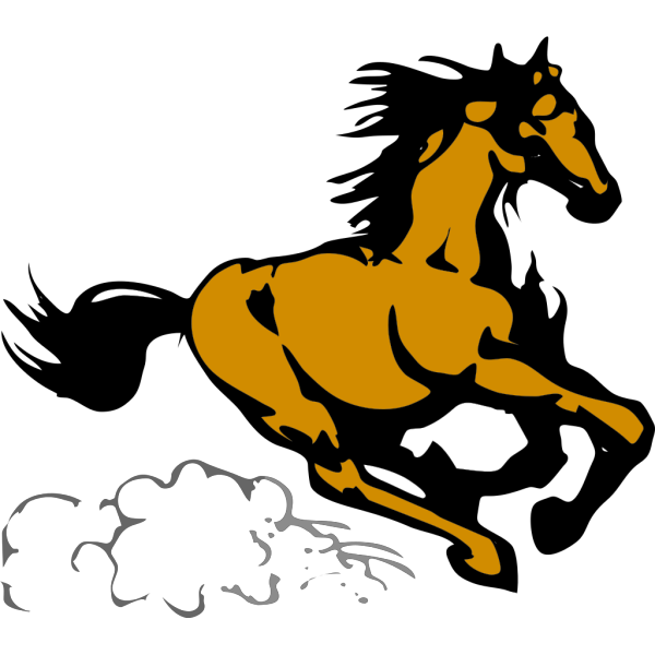 Running Horse 4 PNG images