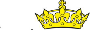 Crown In Blue PNG Clip art