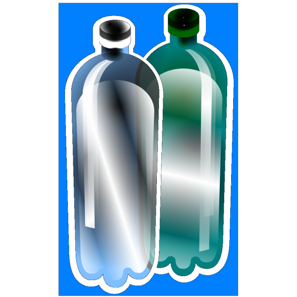 Litter Plastic Bottles PNG icons