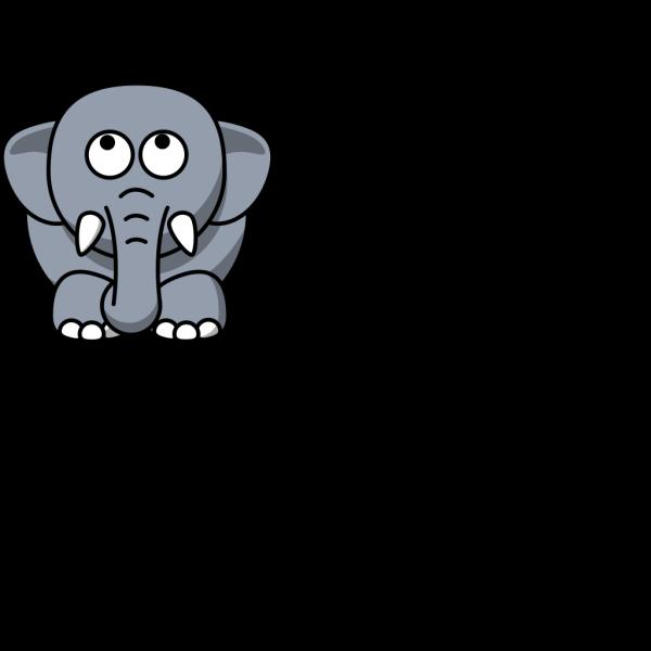 Cartoon Elephant Clip Art PNG Clip art