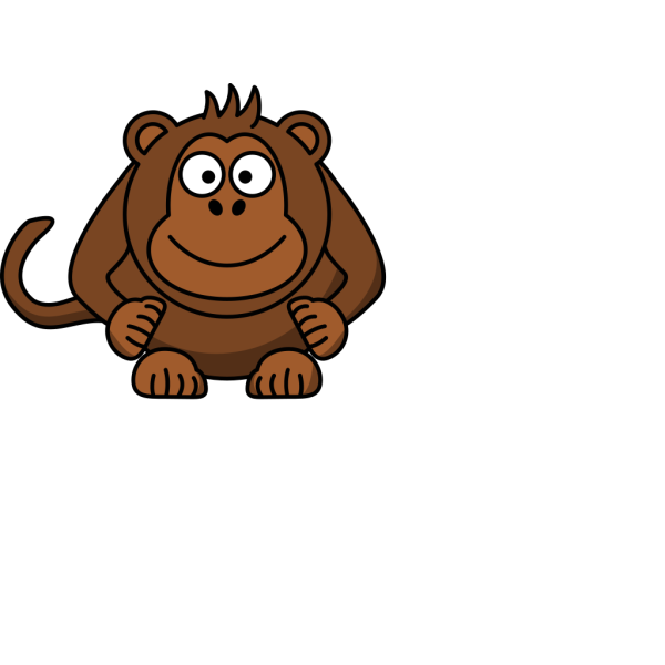 Cartoon Monkey Clip Art PNG Clip art