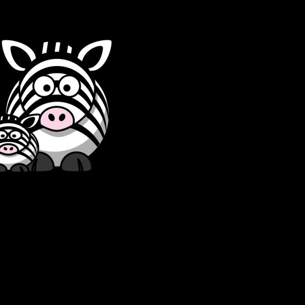 Zebra Mom Clip Art Clip art