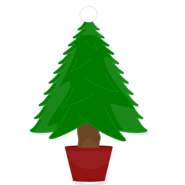 Christmas Tree Clip Art PNG icons