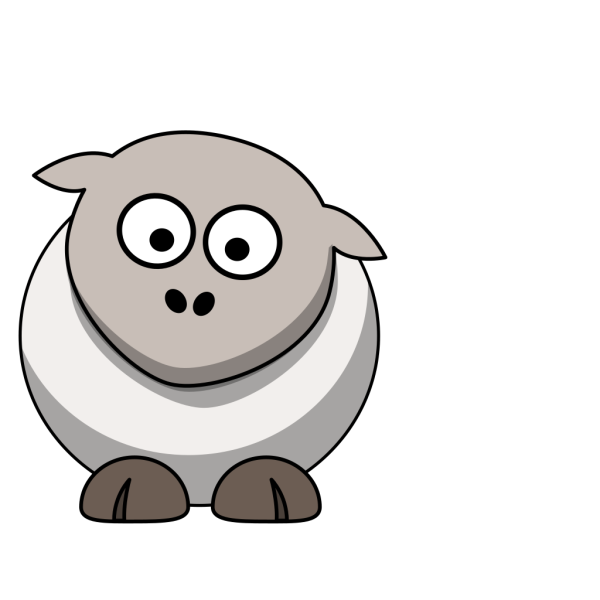 Naked Sheep PNG Clip art