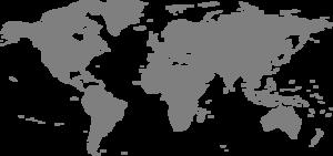 Blue World Map Clip Art PNG Clip art