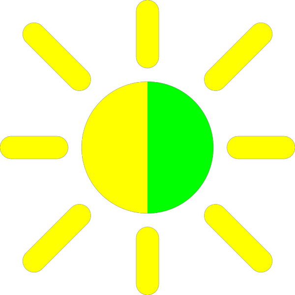 Brightness Contrast Icon PNG Clip art