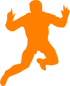 Man Jumping Silhouette PNG Clip art