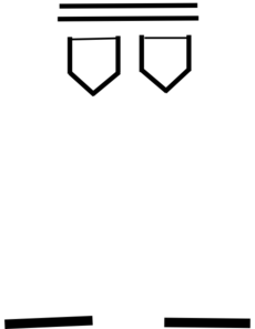 Clothing Pants Outline PNG Clip art