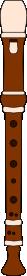 Flute In C PNG Clip art