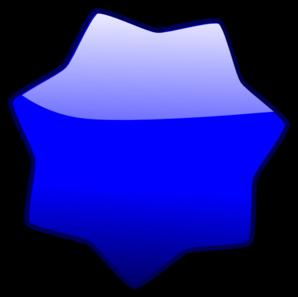 Blue Star PNG Clip art