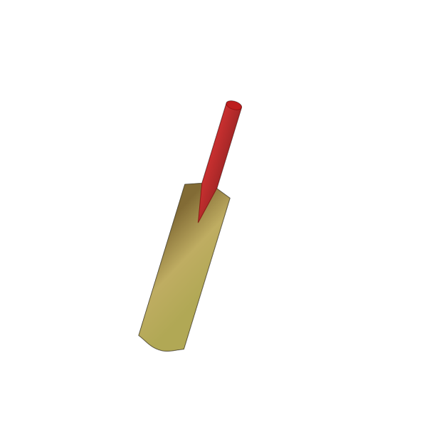 Cricket Bat PNG icon