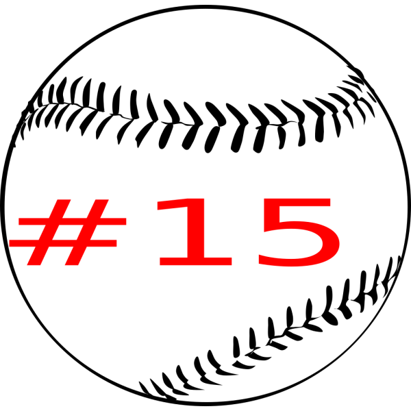 Baseball (b And W) PNG Clip art