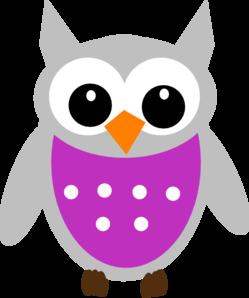 Purple Owl PNG Clip art