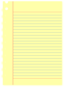 Snifty Spiral Notebook PNG images