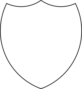 Shield Outline PNG Clip art