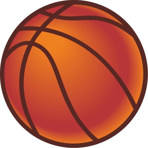 Maxim Basketball clipart
