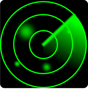 Iolco Radar Screen PNG Clip art