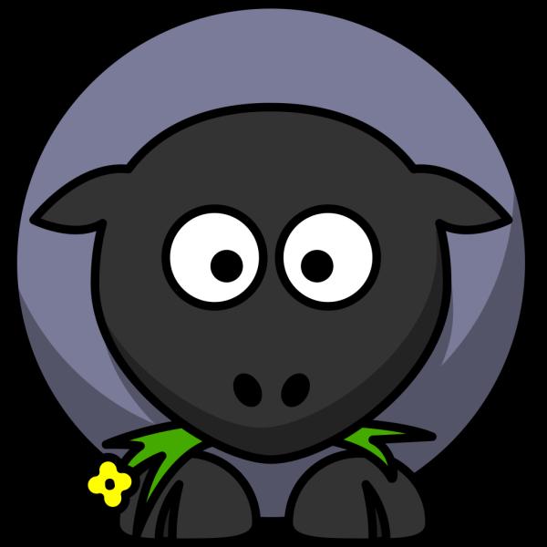 Blue Sheep PNG Clip art