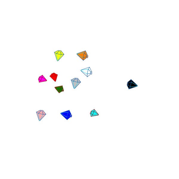 Gems 2 PNG icons