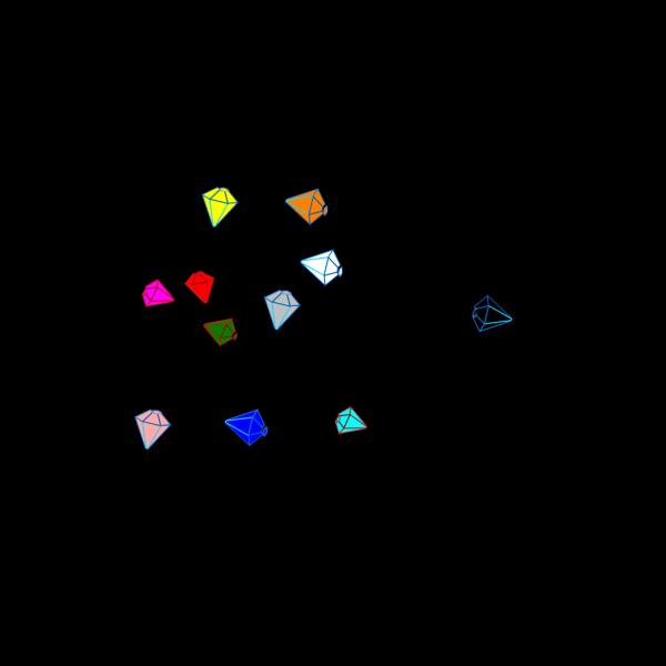 Gems 2 PNG Clip art