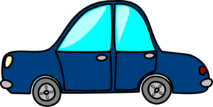 Blue Car3 PNG icon