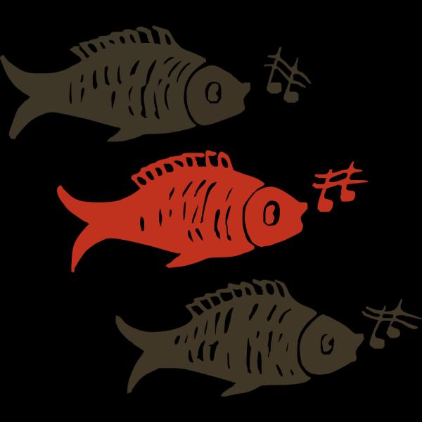 Singing Fish PNG Clip art