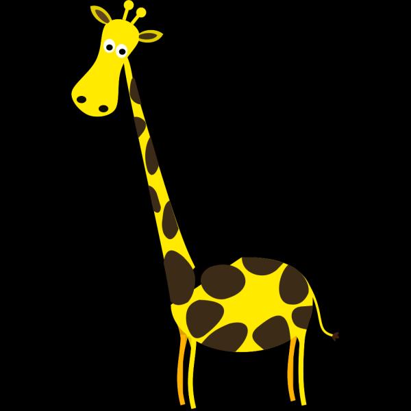 Giraffe Less Spot PNG Clip art
