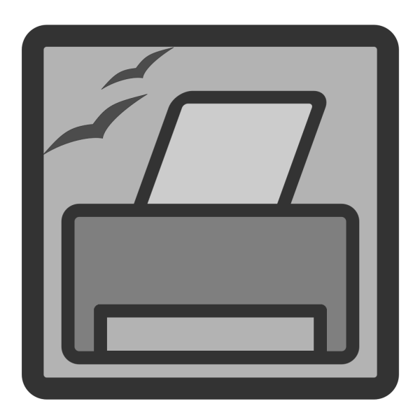 Printer Button PNG images
