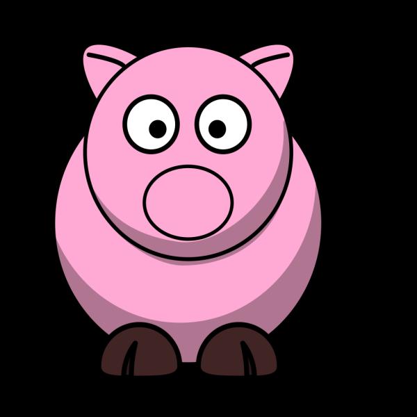 Weird Pig PNG Clip art