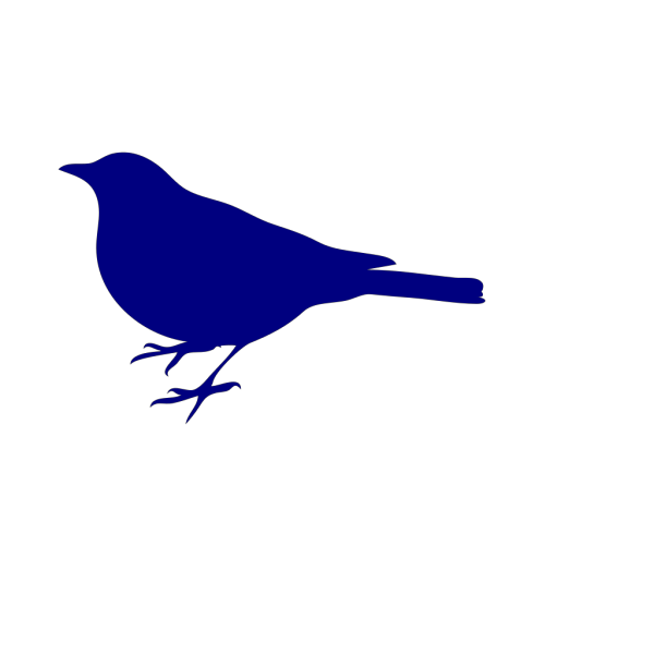 Navy Bird Silhouette PNG images
