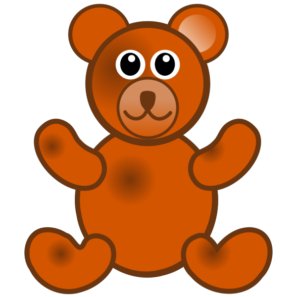 Brown Teddy Bear PNG Clip art