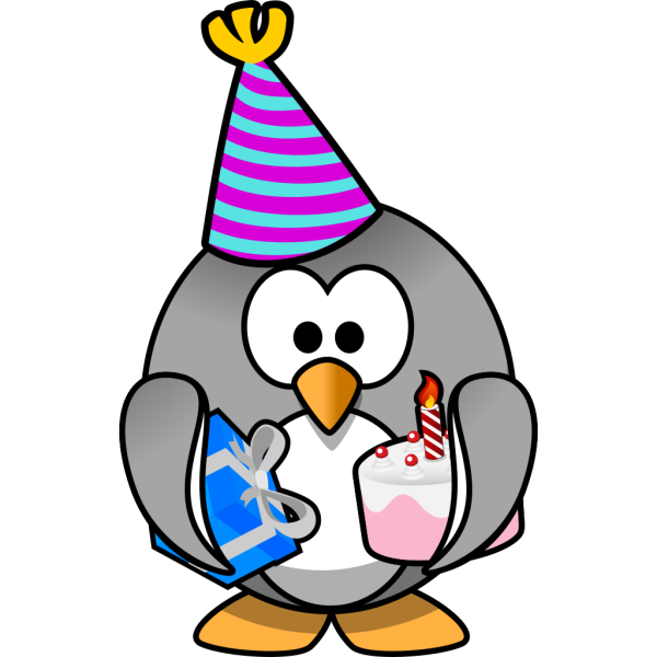 Celebration Penguin PNG images